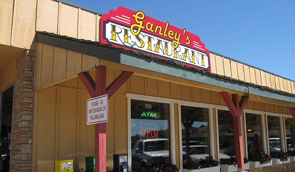 Ganley's Restaurant Sign