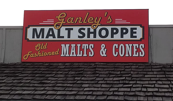 Malt Shoppe Sign